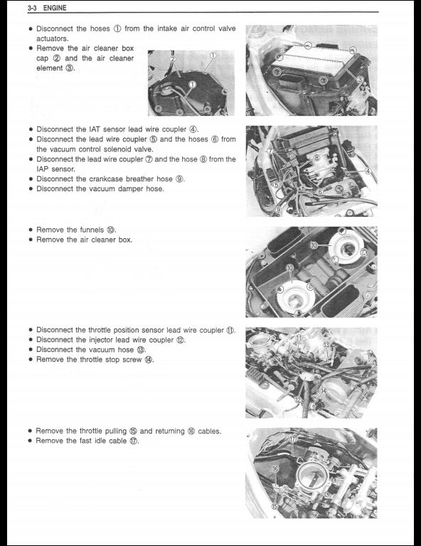 1998-2002 Suzuki TL1000R Motocycle Service Repair Workshop