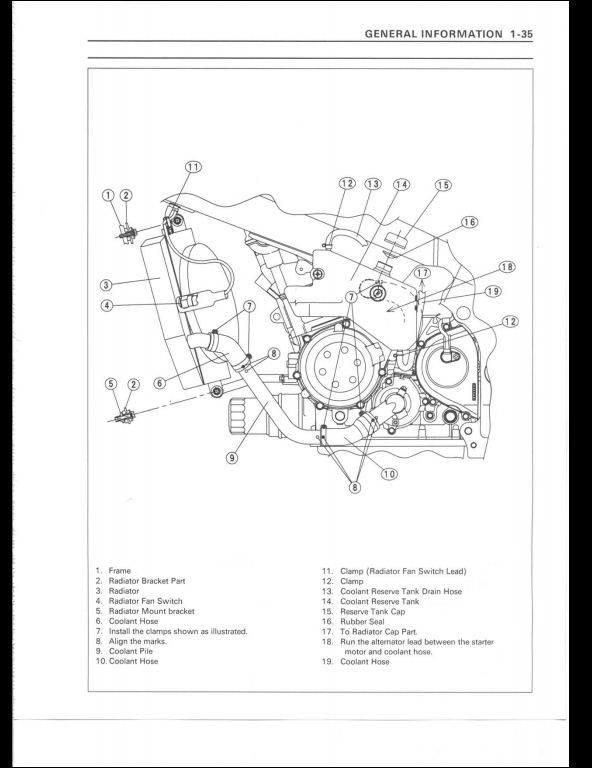 1998 1999 Kawasaki Zx9r Motorcycle Service Repair Manual