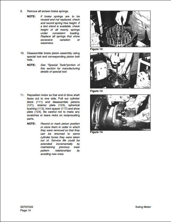 2004 Doosan Solar 140LC-V Crawled Excavator Service Repair