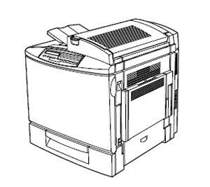 2000 EPSON AcuLaser Color 2000 A4 Color Laser Printer