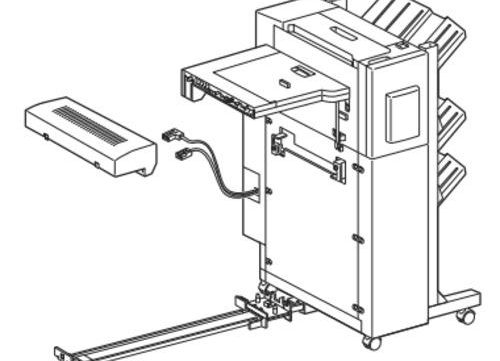 1998 EPSON EPL-N4000/EPL-N4000+ OPTIONAL FINISHER STAPL