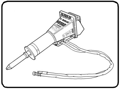 Bobcat HB Series Hydraulic Breaker Service Repair Workshop
