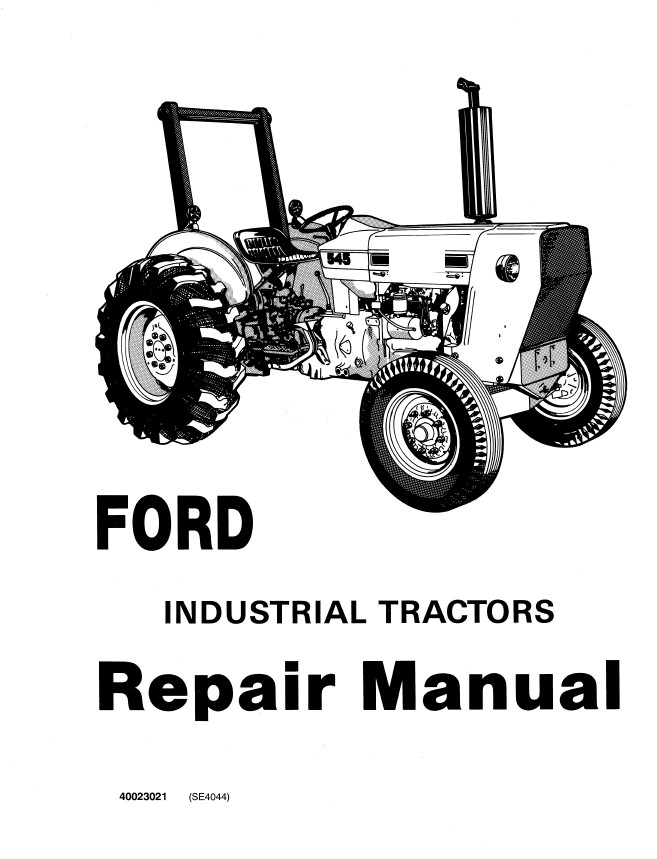 New Holland Ford 545 Industrial Tractors Service Repair