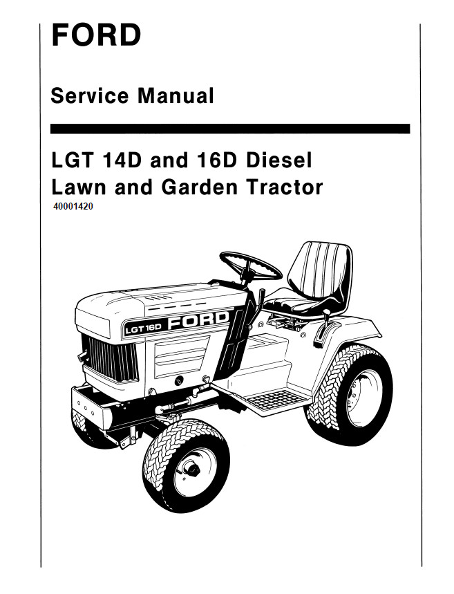 New Holland Ford LGT 14D/16D Diesel Lawn And Garden