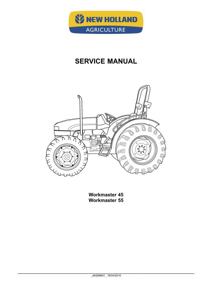 New Holland Workmaster 45/Workmaster 55 Tractor Service