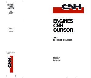 New Holland Cnh Diesel Engine Service Repair Workshop