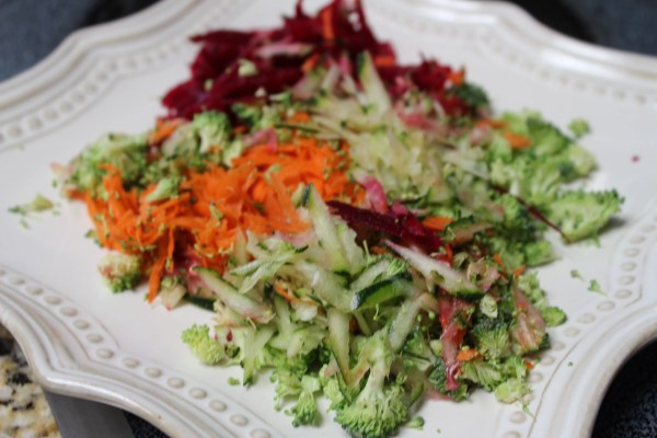 Arepas fit de Remolacha, Brócoli, Zanahoria y Calabacín | Arepas Fit