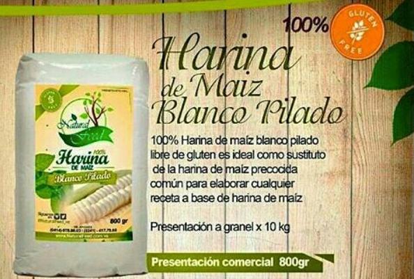 Harinas Artesanales Para Preparar Arepas en Venezuela