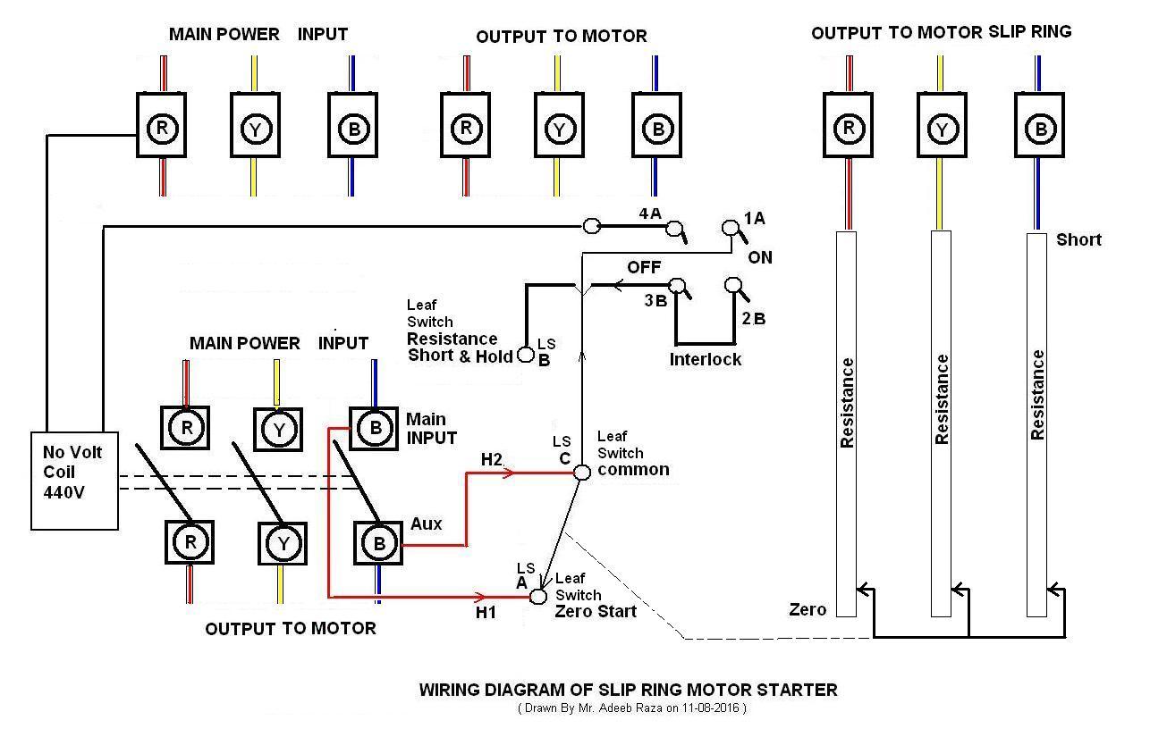 hight resolution of  b slip ring motor starter b through this circuit diagram