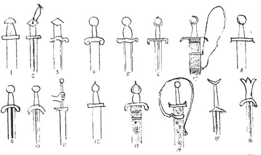 Byzantine swords