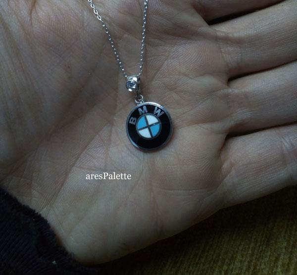 bmw halskette bmw swarovski necklace 6