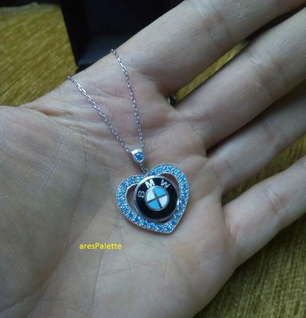 bmw love necklace bmw blau bmw halskette 4