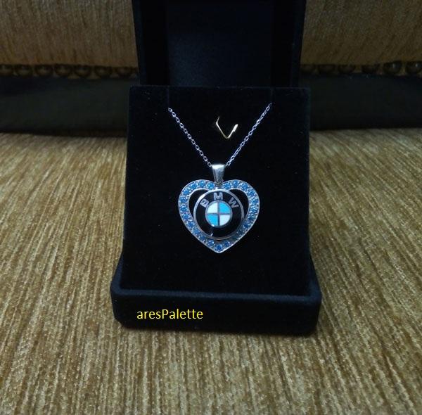 bmw necklace bmw blue love necklace 4