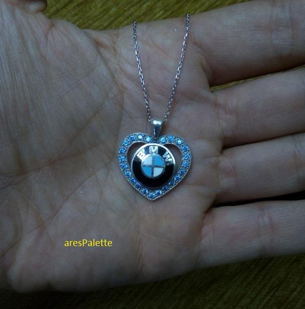 bmw necklace bmw blue love necklace 5