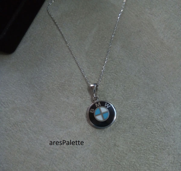 bmw pendant bmw necklace 1