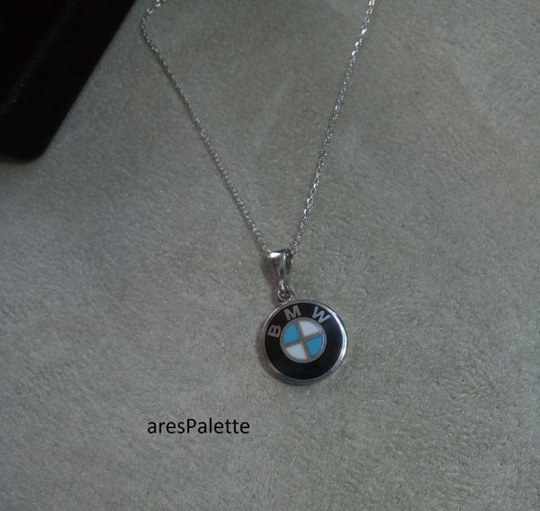 bmw pendant bmw necklace 1