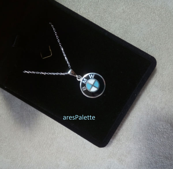 bmw pendant bmw necklace 1 bmw halskette