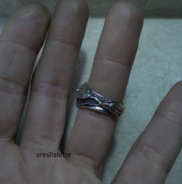 lion ring men ring lion handmade silver ring 5