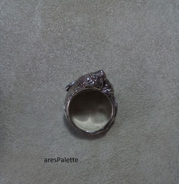 lion ring men ring lion handmade silver ring 8