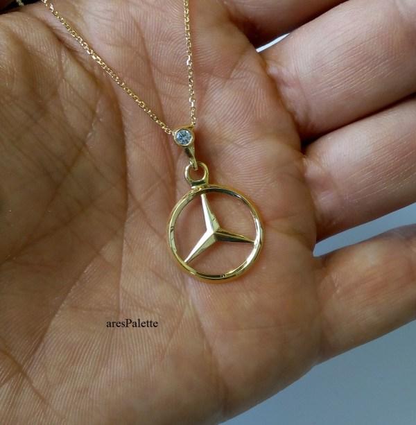 mercedes benz jewelry mercedes necklace mercedes pendant mercedes pendentif mercedes gold necklace arespalette mercedes schmuck 21