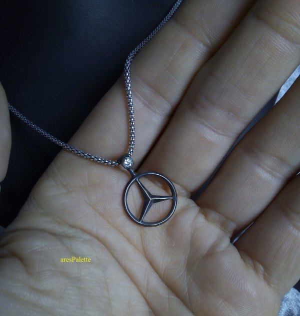 mercedes benz necklace mercedes halskette mercedes schmuck mercedes jewelry arespalette 15