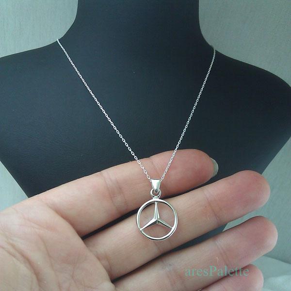 mercedes benz necklace mercedes halskette 1