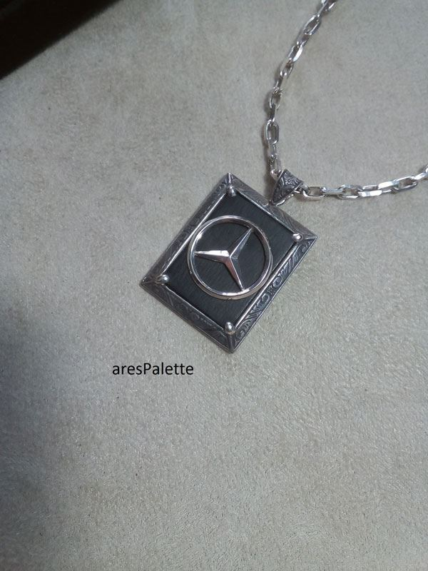 mercedes benz necklace mercedes benz jewelry car jewelry onix stone 3