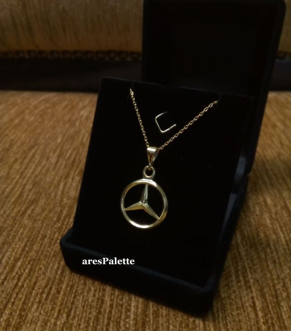 mercedes benz necklace mercedes jewelry 1 min