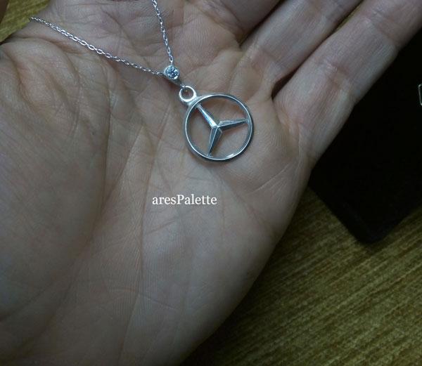 mercedes jewelry mercedes halskette swarovski 4