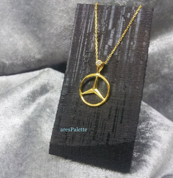 mercedes benz jewelry necklace 4