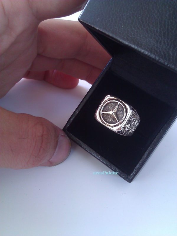 mercedes benz silver ring 5 scaled 1