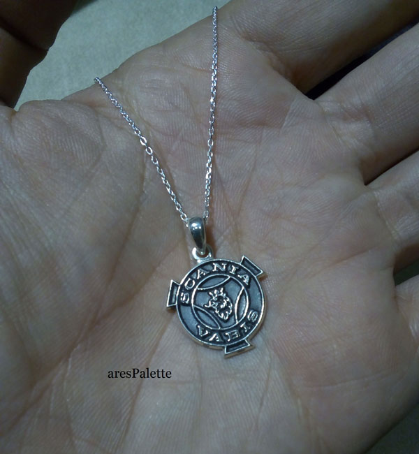scania necklace  scania vabis pendant   arespalette 3