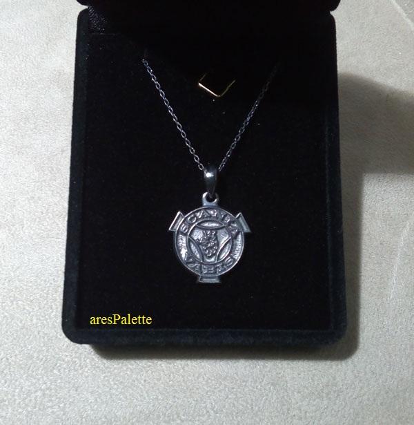 scania necklace  scania vabis pendant  scania vabis jewelry   arespalette 1