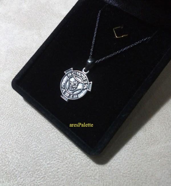 scania necklace  scania vabis pendant  scania vabis jewelry   arespalette 4