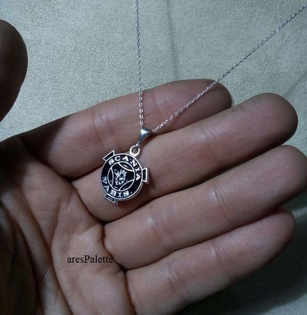 scania vabis necklace scania halskette   vabis collier  arespalette 7