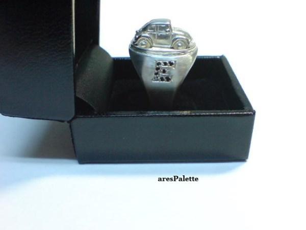 vw beetle customized ring 925 20