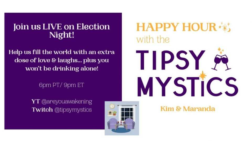 Election Night with the Tipsy Mystics