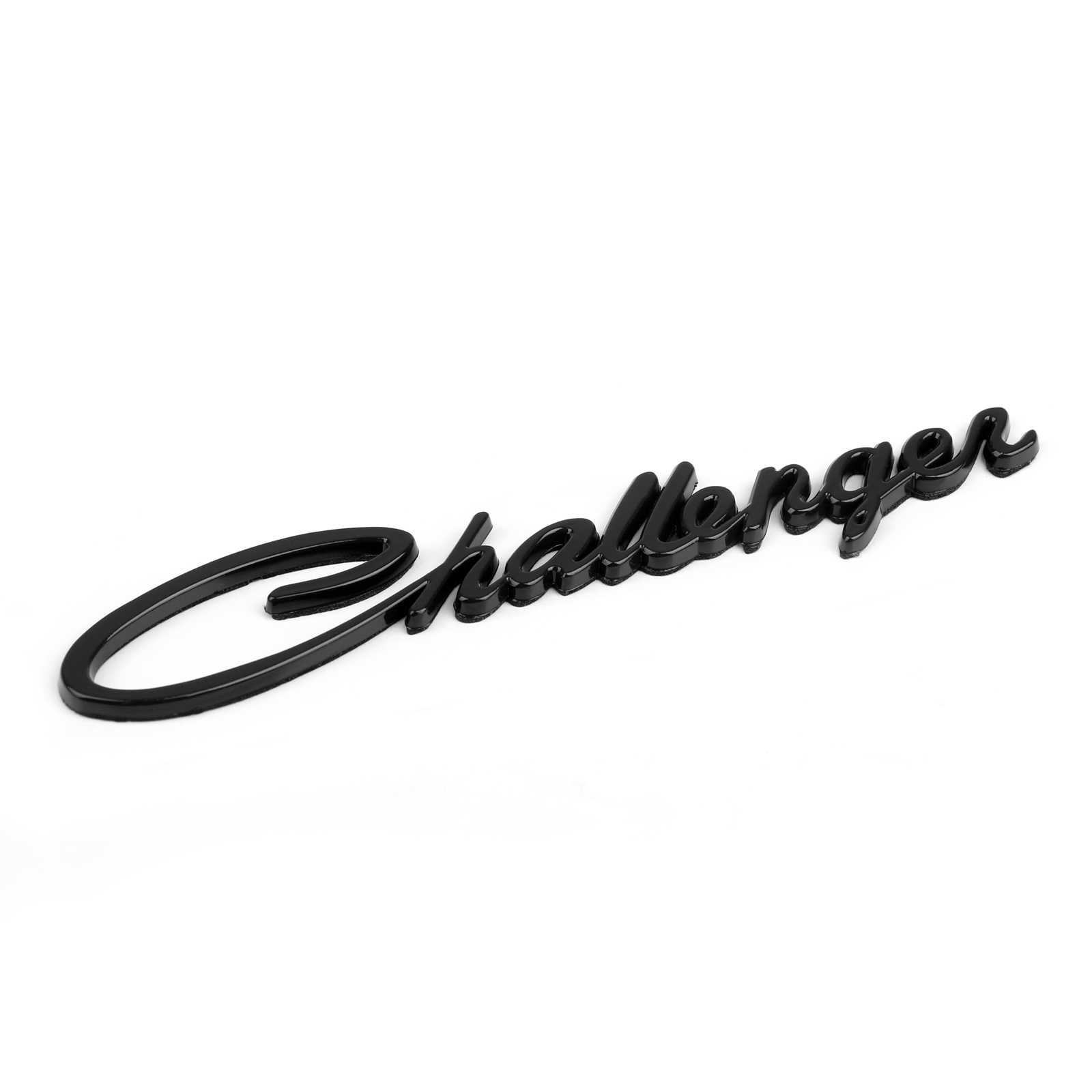 For Dodge Challenger 3d Trunk Fender Logo Emblem Script