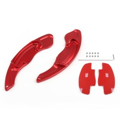 details about shifters shift paddles extension for honda accord acura mdx cdx 2013 2016 red ue [ 1600 x 1600 Pixel ]
