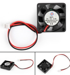 details about dc brushless cooling pc computer fan 12v 3007s 30x30x7mm 0 13a 2 pin wire us [ 1600 x 1600 Pixel ]