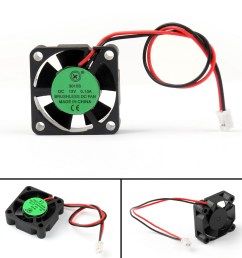 details about dc brushless cooling pc computer fan 12v 3010s 30x30x10mm 0 13a 2 pin wire ue [ 1600 x 1600 Pixel ]