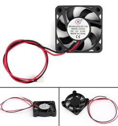 details about dc brushless cooling pc computer fan 12v 5010 50x50x10mm 0 16a 2 pin wire ue [ 1600 x 1600 Pixel ]