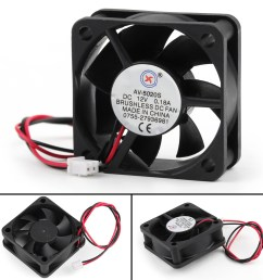 dc brushless cooling pc computer fan 12v 0 18a 5020s 50x50x20mm 2 dc 12v computer fan wiring [ 1600 x 1600 Pixel ]