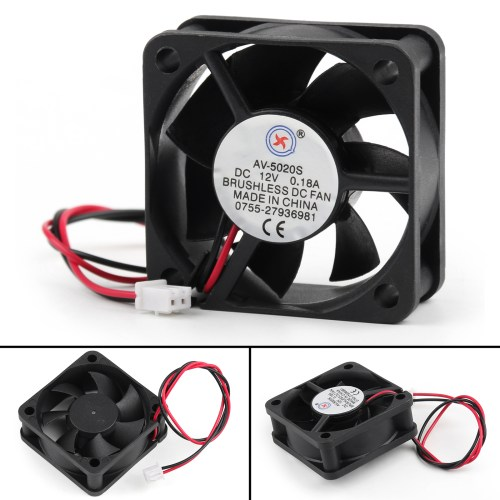 small resolution of dc brushless cooling pc computer fan 12v 0 18a 5020s 50x50x20mm 2 dc 12v computer fan wiring