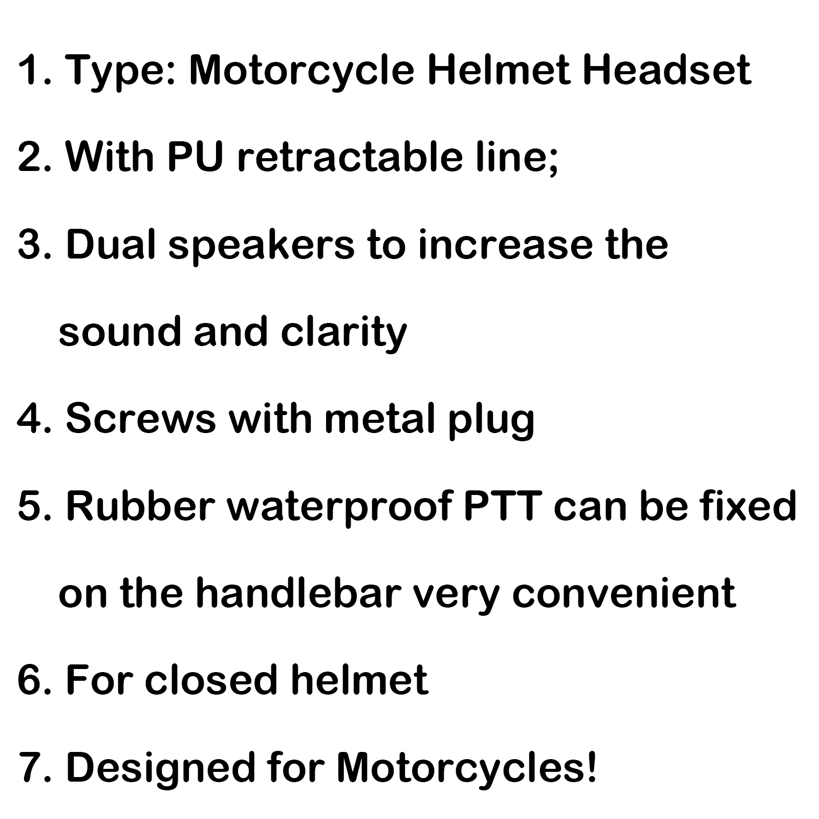 1Pc Motorcycle Helmet Headset Finger PTT For Motorola XiR