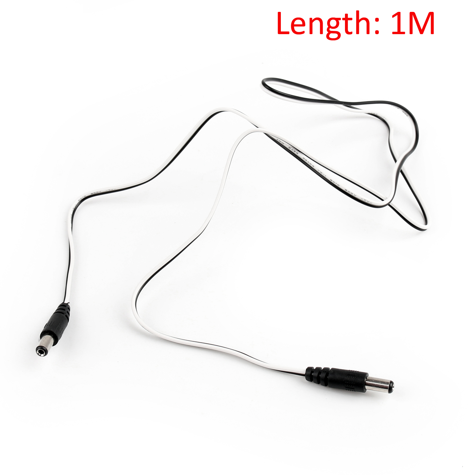 Dc 5 5x2 1mm Male To Male Female 22awg Power Connect Cord