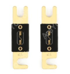 2pcs fuse 40a amp anl type gold plated blade fuses for [ 900 x 900 Pixel ]