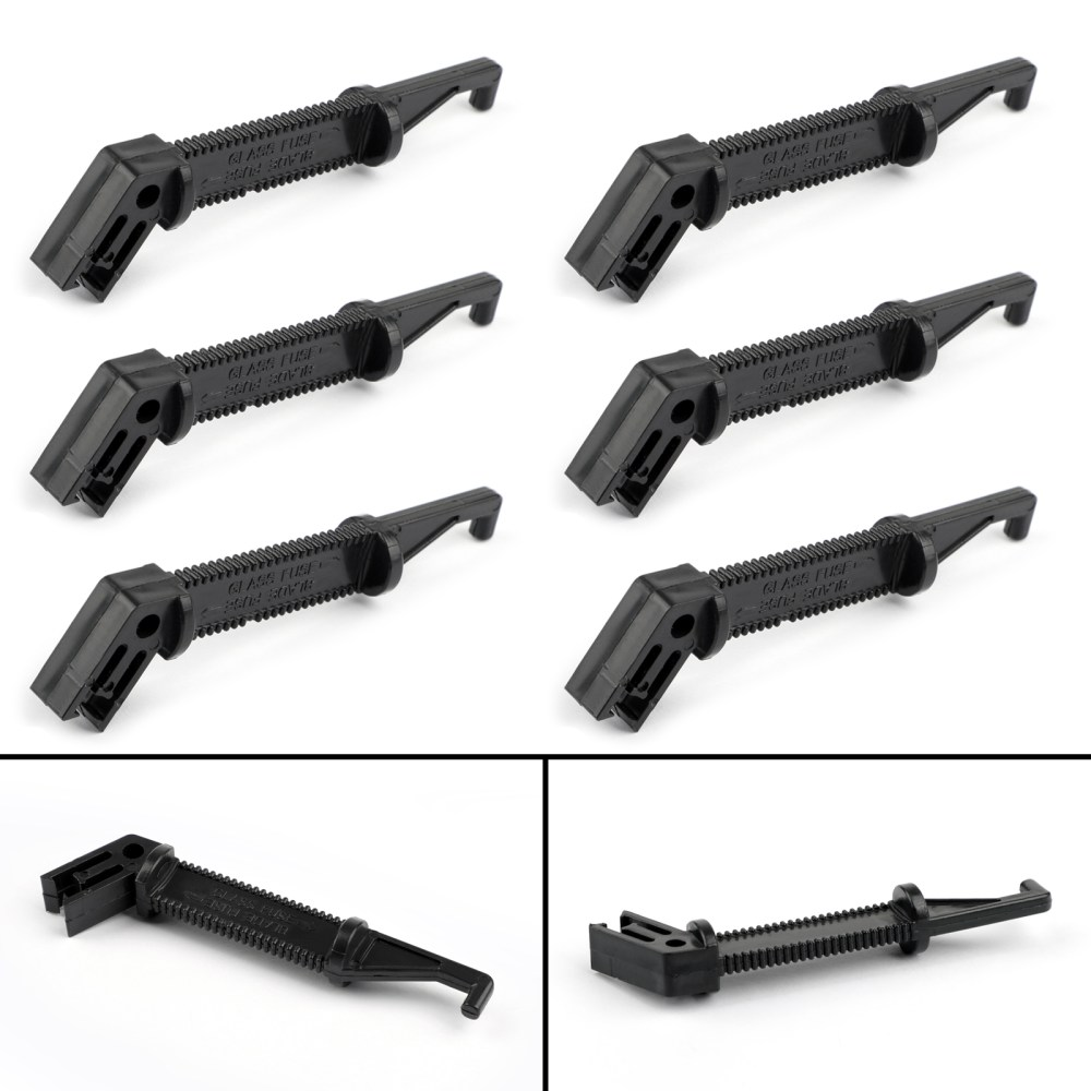 medium resolution of details about 6 fuse puller car automotive standard medium blade fuse tool extractor black s