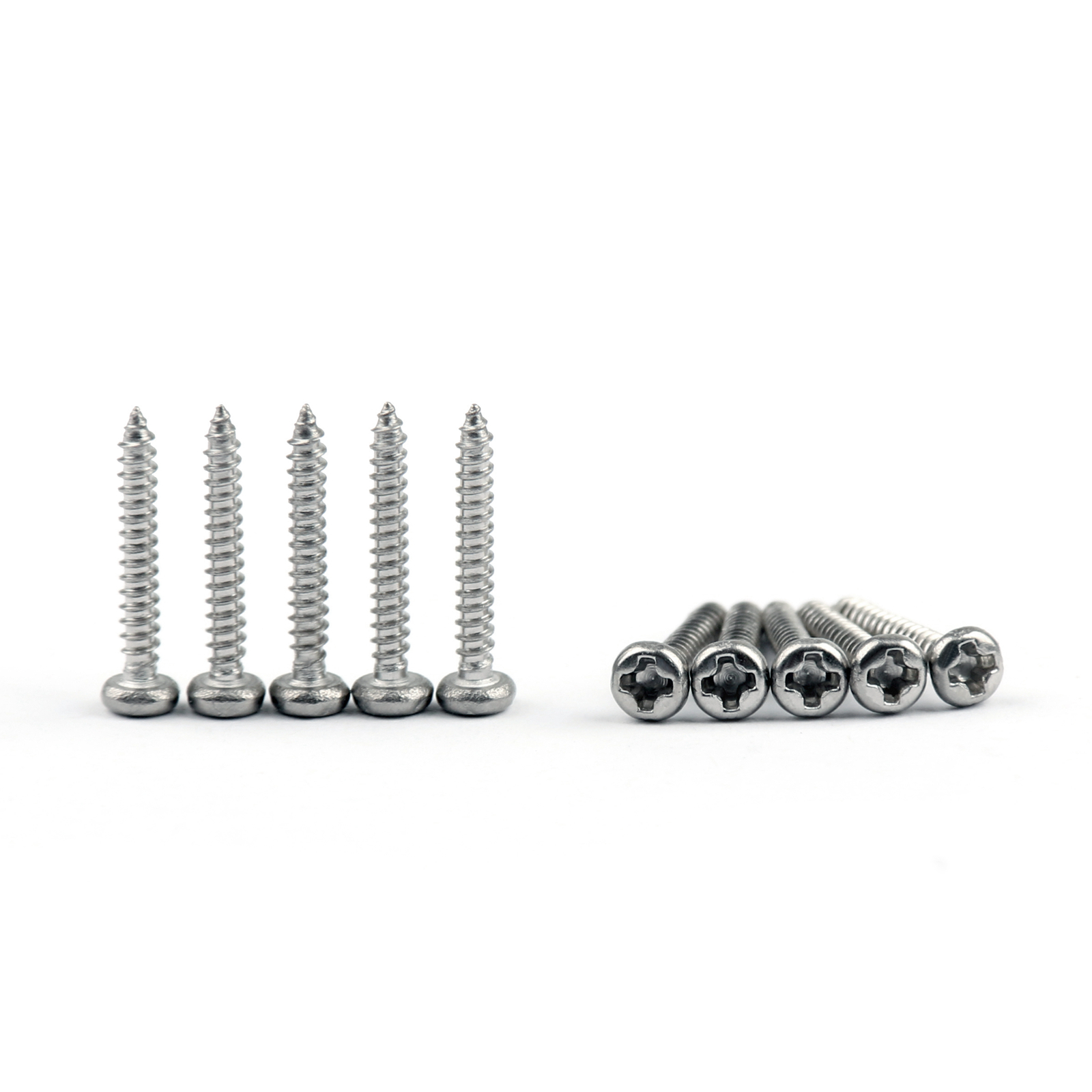 M2.3/M2.6 Phillips Round Head Screw Alloy Self Tapping