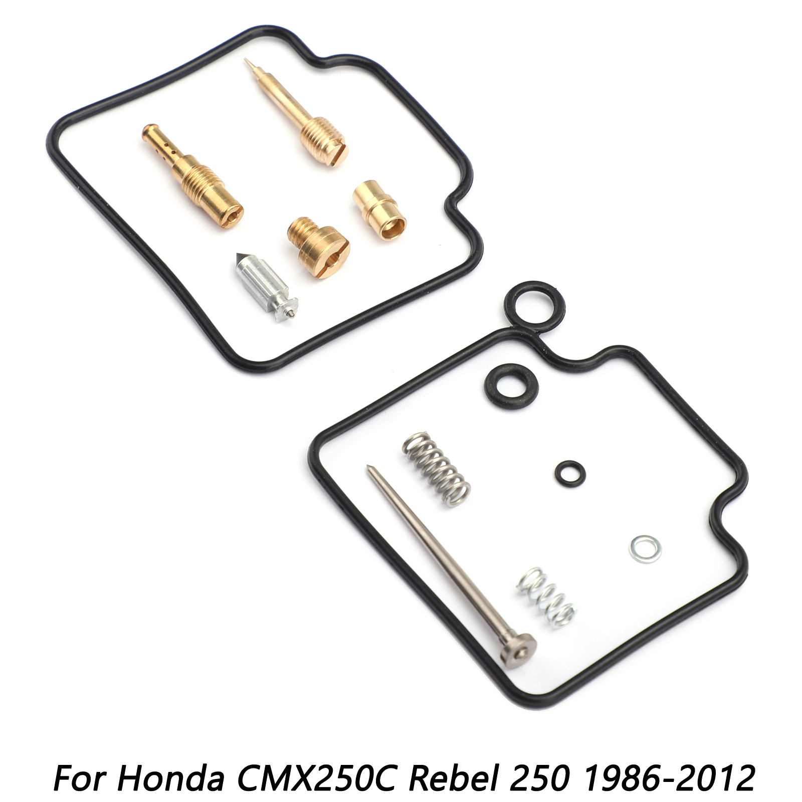 CARBURETOR CARB REPAIR REBUILD KIT FOR HONDA CMX250C REBEL